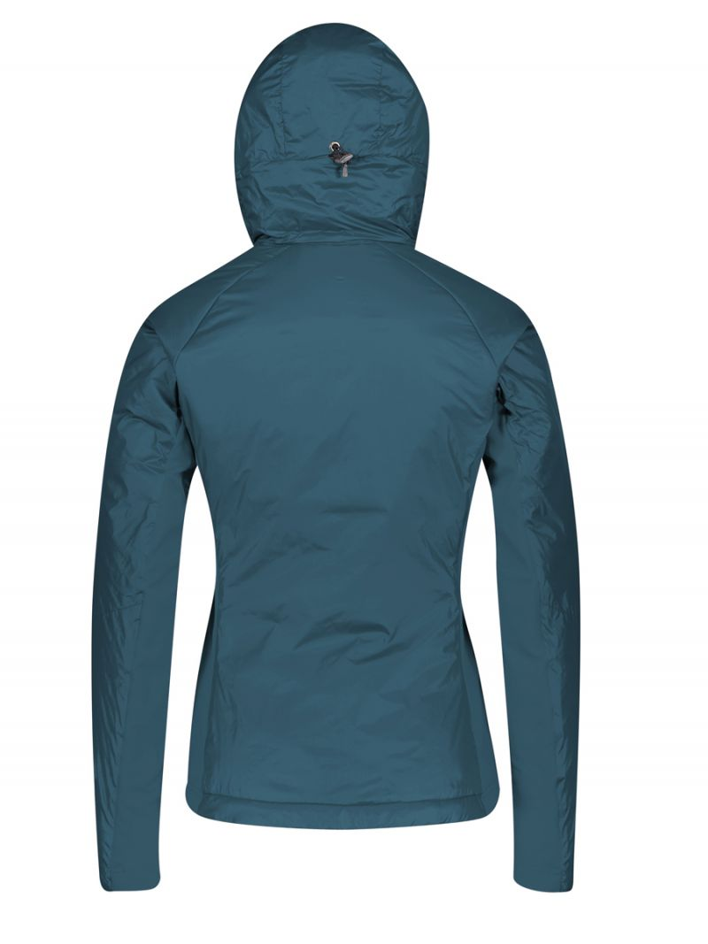 SCOTT INSULOFT LIGHT PL HOODY WOMEN