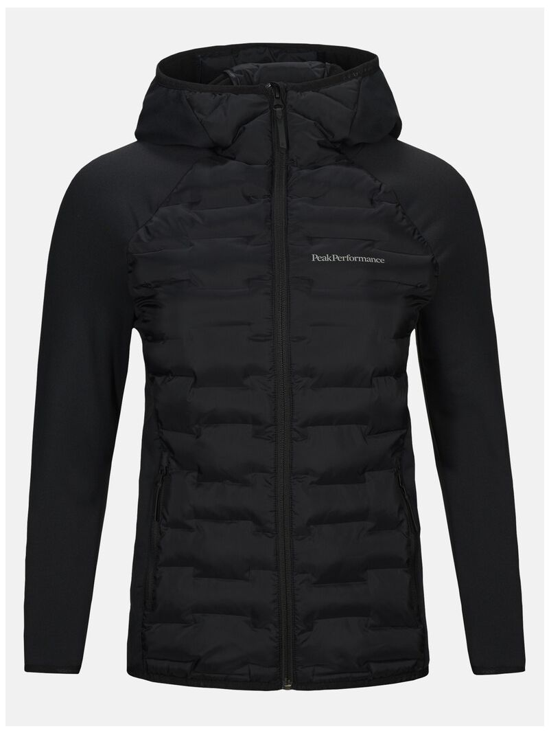 PEAK PERFORMANCE ARGON HYBRID HOODED JACKET WOMEN