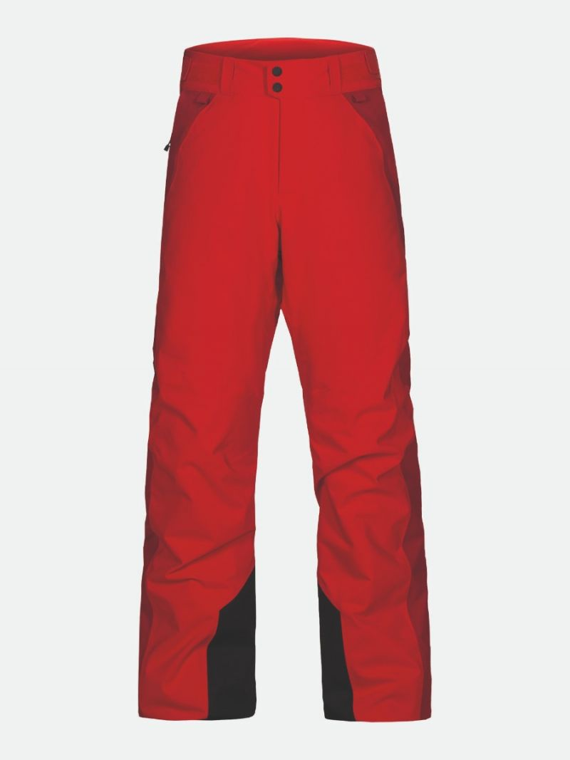 MAROON RACE PANT MEN