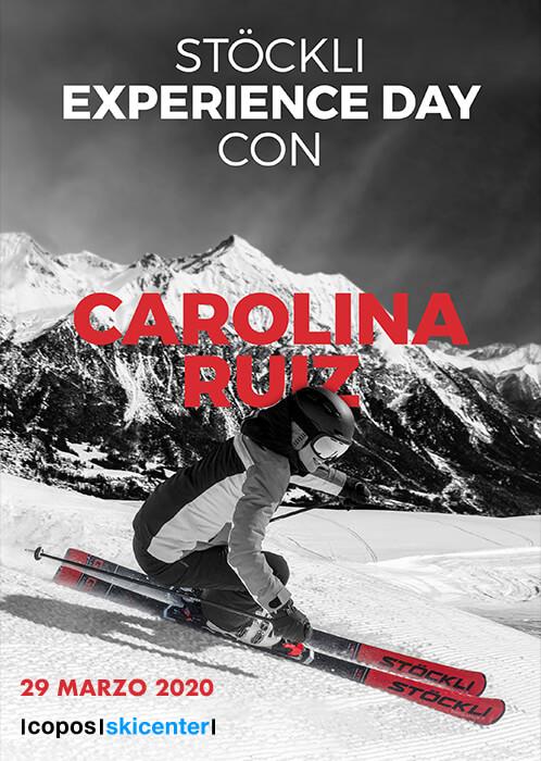 Stöckli Experience Day con Carolina Ruiz